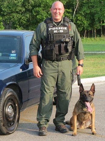 Cameron Ford, K9 trainer