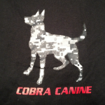 Long Sleeve 'Camo Canine' T-Shirt